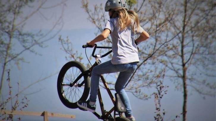 bmx bike girl rider