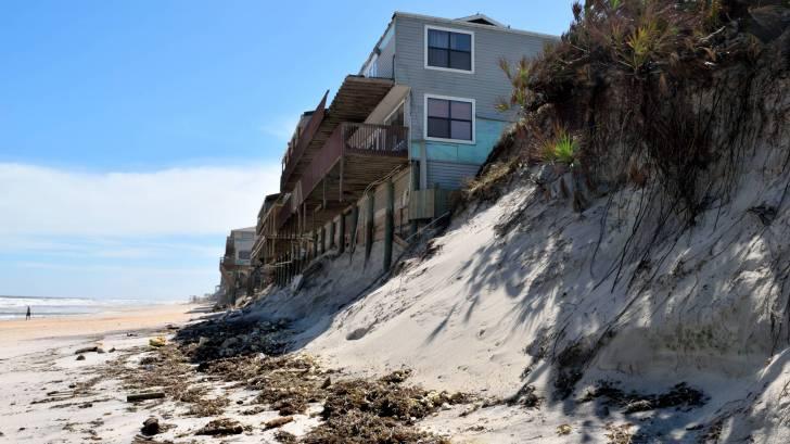 tropical storm damage beach houses