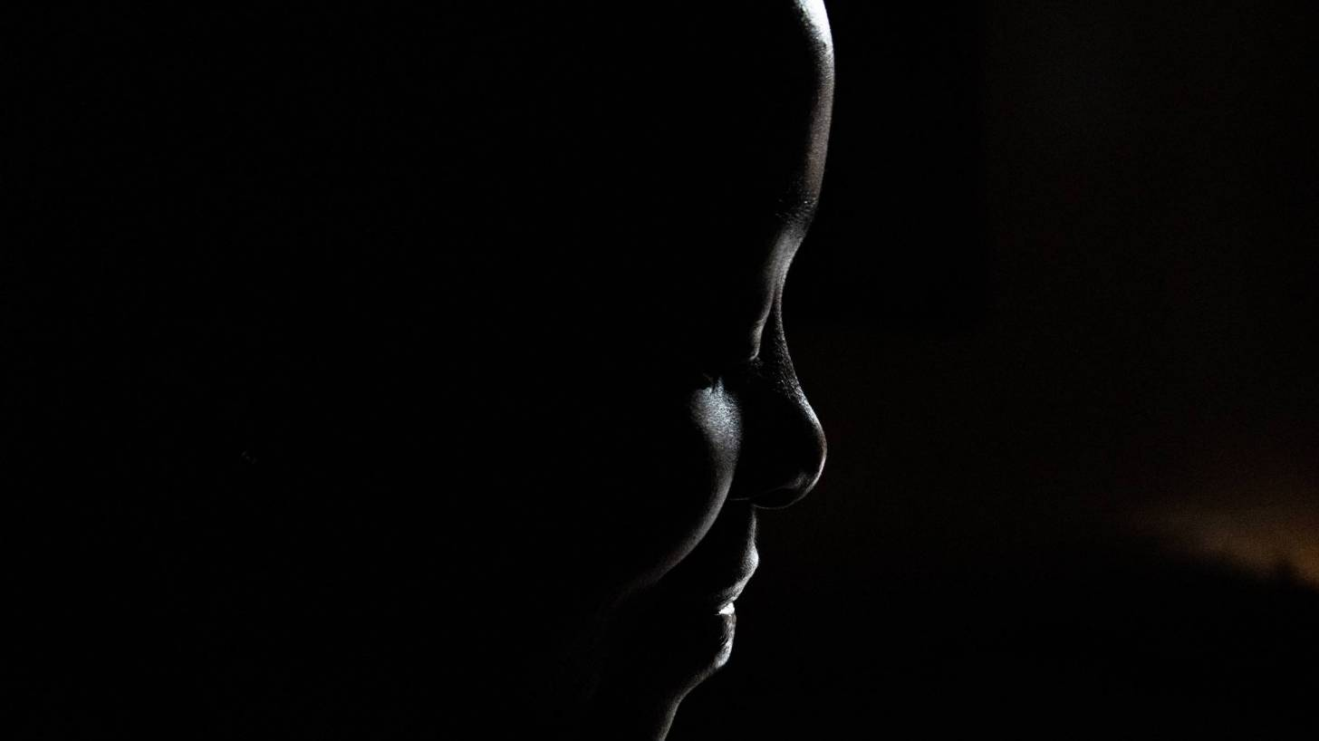 african woman silhouette