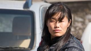 young bhutan woman