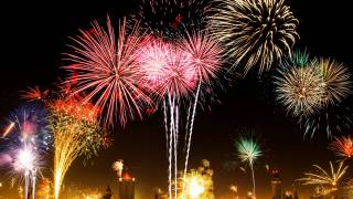 fireworks celebrating cancer preventions