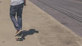 boy on skareboard