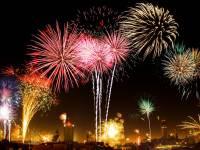 fireworks celebrating cancer preventions